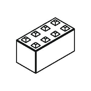 Betonblock 160-80 von Lasselsberger