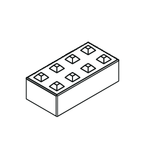Betonblock 160-8 flach von Lasselsberger