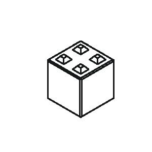 Betonblock 80-4 von Lasselsberger