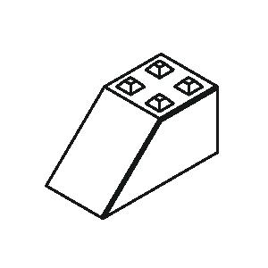 Betonblock 80 Sockel von Lasselsberger