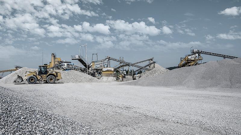 Sandgrube und Kieswerk Lasselsberger in Pöchlarn